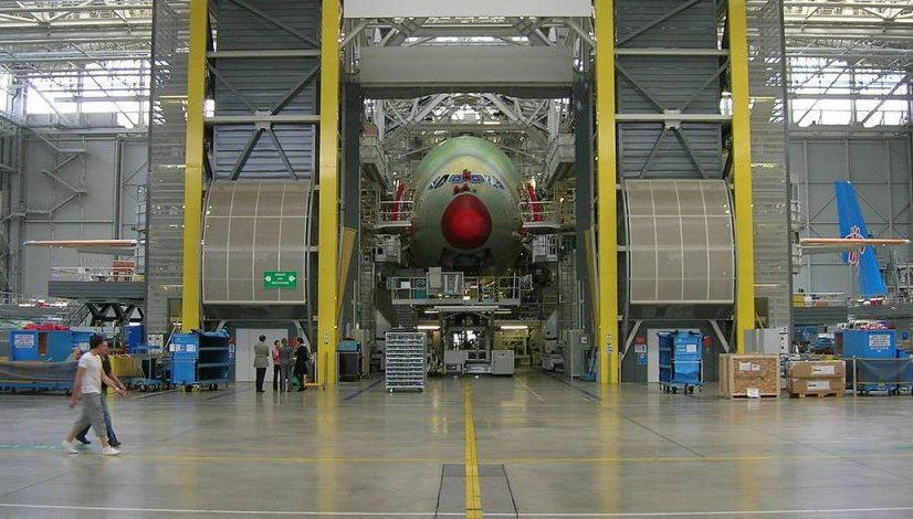 Aircraft Production Airbus Assemble Completion